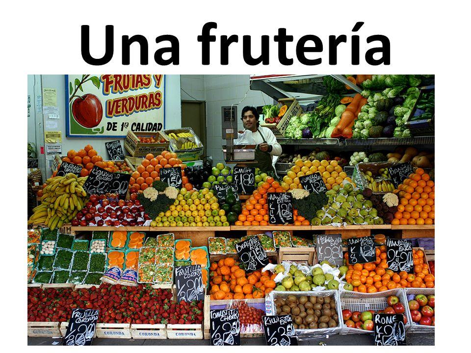 Una frutería