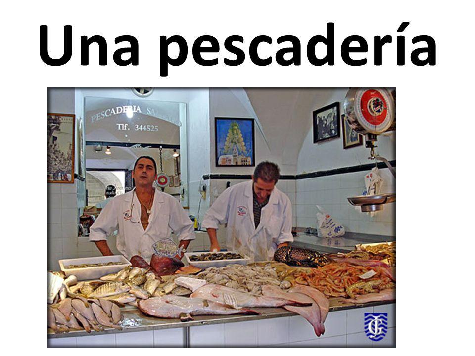 Una pescadería