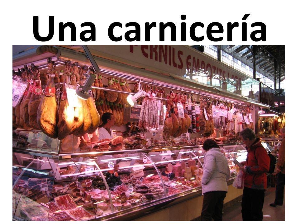 Una carnicería