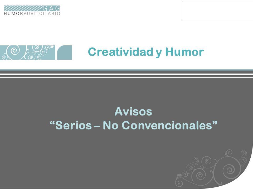 Avisos serios no conv Creatividad y Humor Avisos Serios – No Convencionales