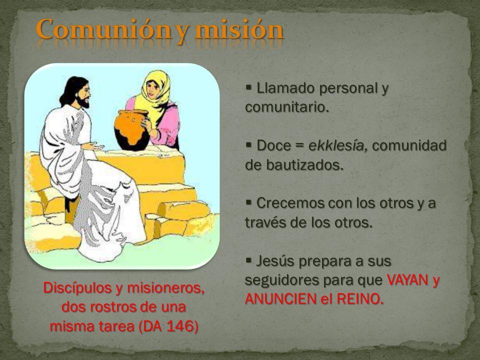 Llamado personal y comunitario.Llamado personal y comunitario.