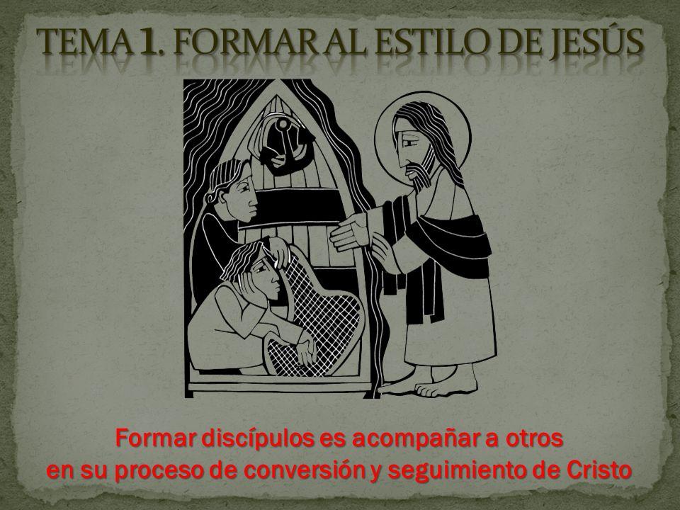 Formar discípulos es acompañar a otros en su proceso de conversión y seguimiento de Cristo