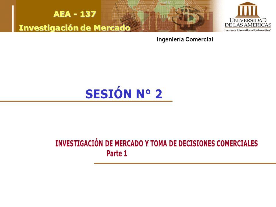 AEA - 137 Investigación de Mercado Ingeniería Comercial