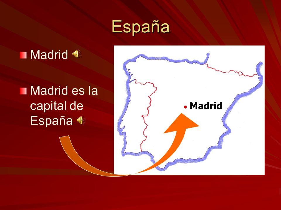 Madrid España unas regiones importantes ––e––el País Vasco ––C––Cataluña ––A––Andalucía ––G––Galicia ––l––las Islas Baleares ––l––las Islas Canarias P