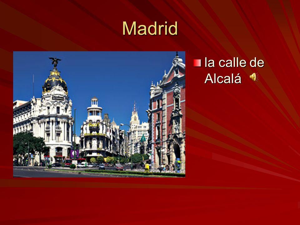 España Madrid Madrid es la capital de España Madrid