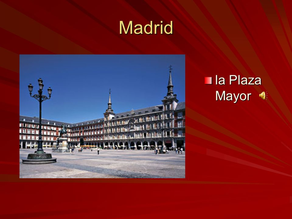 Madrid La fuente de Cibeles