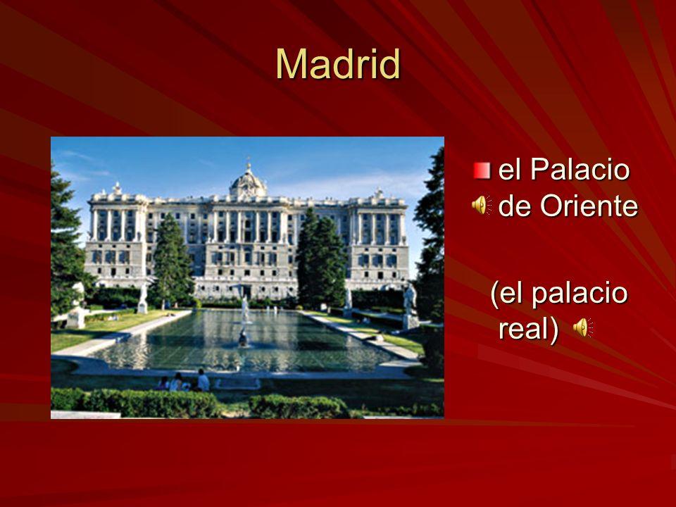 Madrid las Cortes Españolas (el parlamento) (el parlamento)