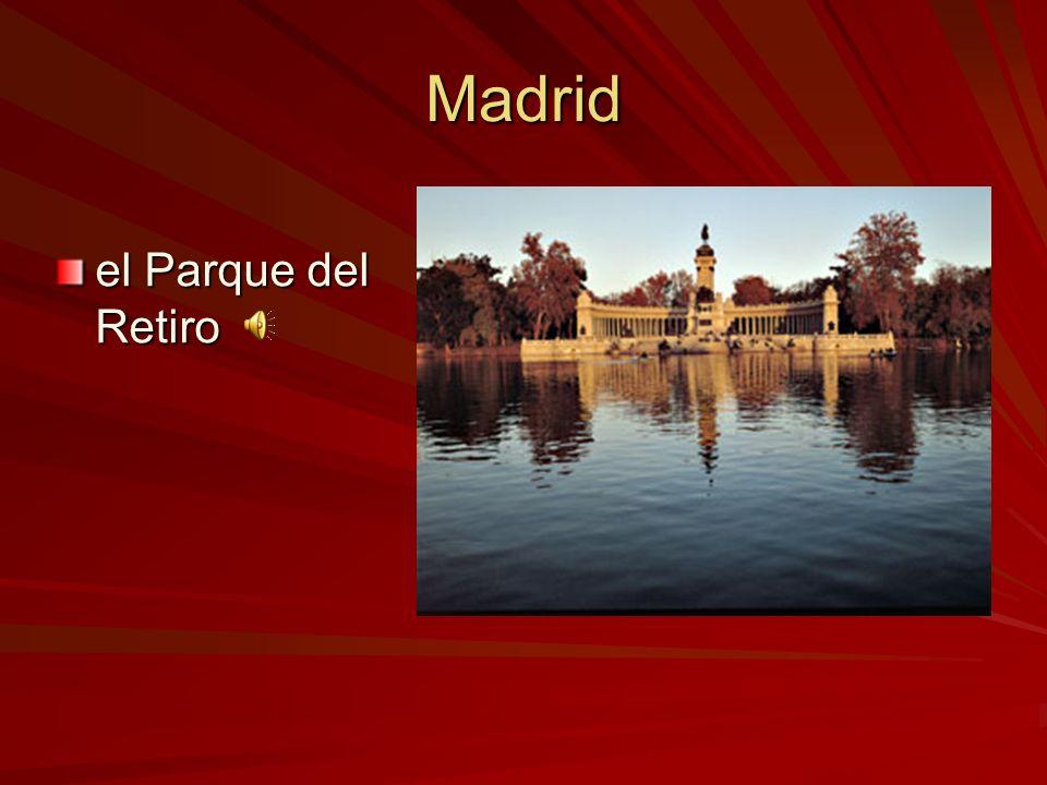 Madrid el Palacio de Oriente (el palacio real) (el palacio real)