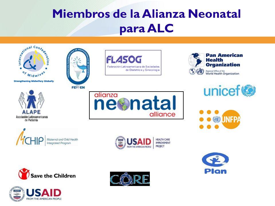 Miembros de la Alianza Neonatal para ALC
