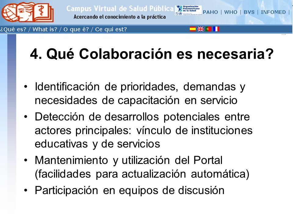 conectarse >> 4. Qué Colaboración es necesaria.