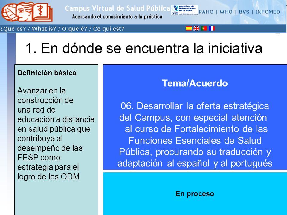conectarse >> 1. En dónde se encuentra la iniciativa Tema/Acuerdo 06.