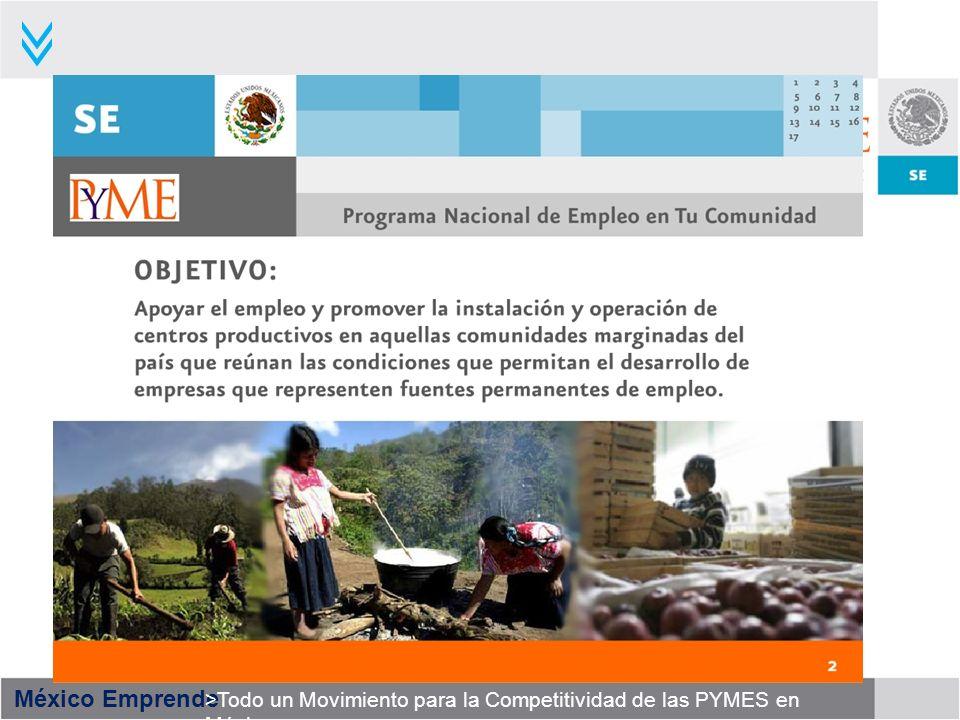 México Emprende >Todo un Movimiento para la Competitividad de las PYMES en México
