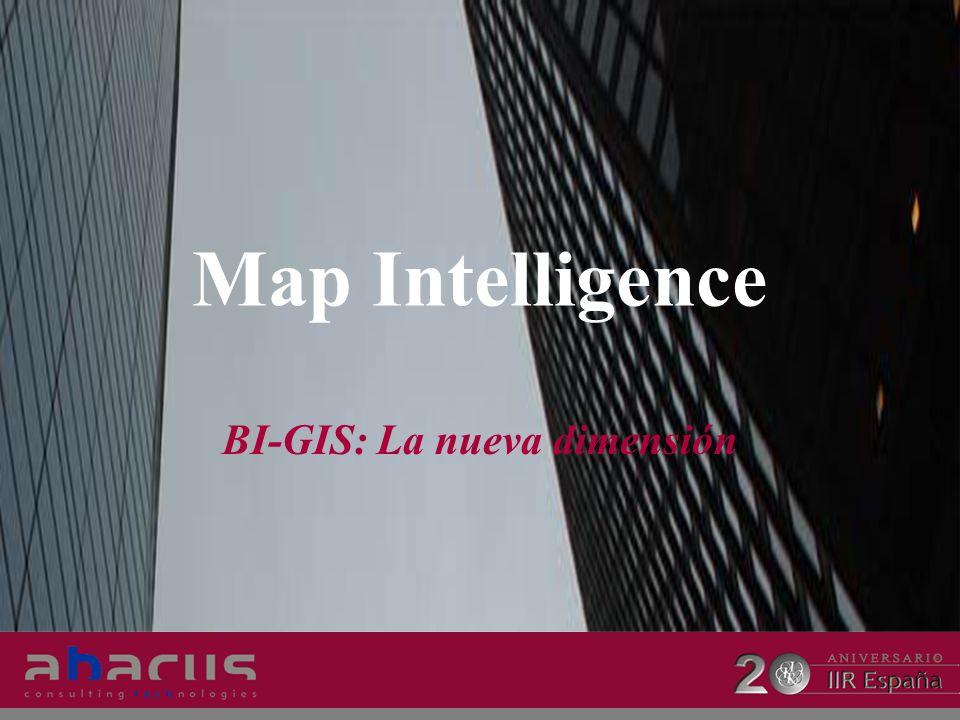 Map Intelligence BI-GIS: La nueva dimensión