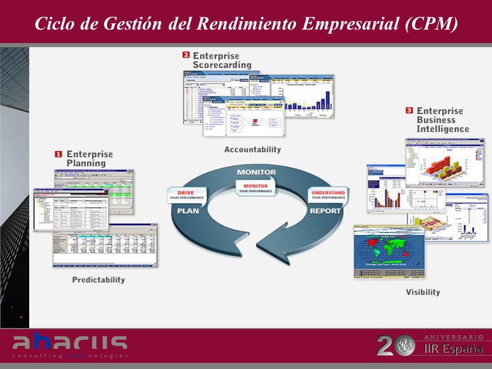 Ciclo de Gestión del Rendimiento Empresarial (CPM)