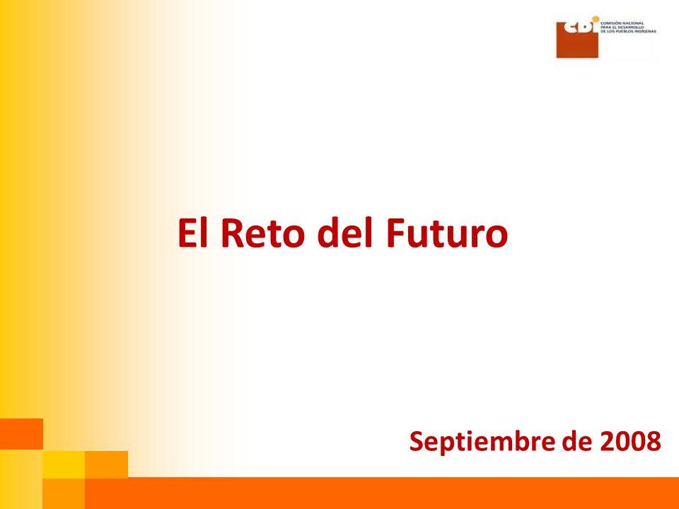 El Reto del Futuro Septiembre de 2008