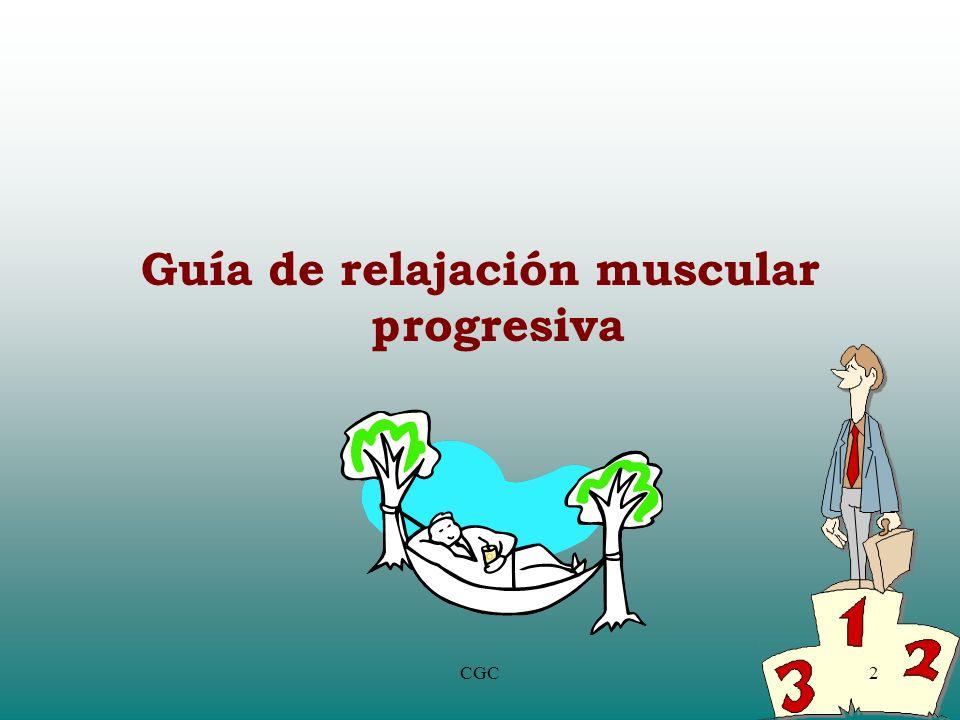 Guía de relajación muscular progresiva 2CGC