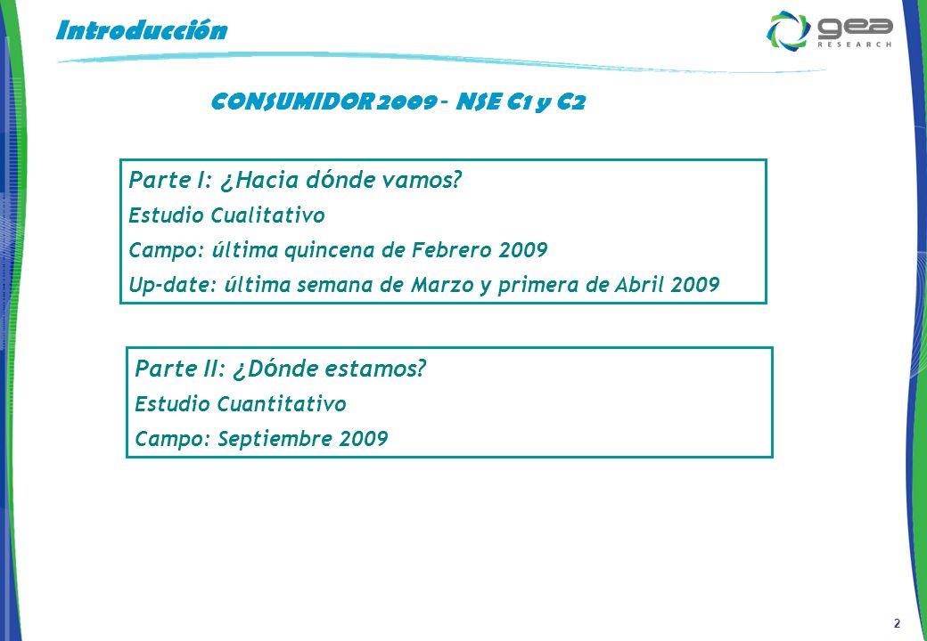 3 Metodolog í a y Muestra 320 entrevistas telefónicas a población de nivel socioeconómico C1 y C2.