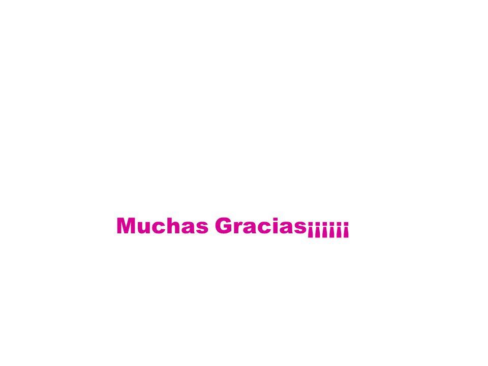 Muchas Gracias¡¡¡¡¡¡