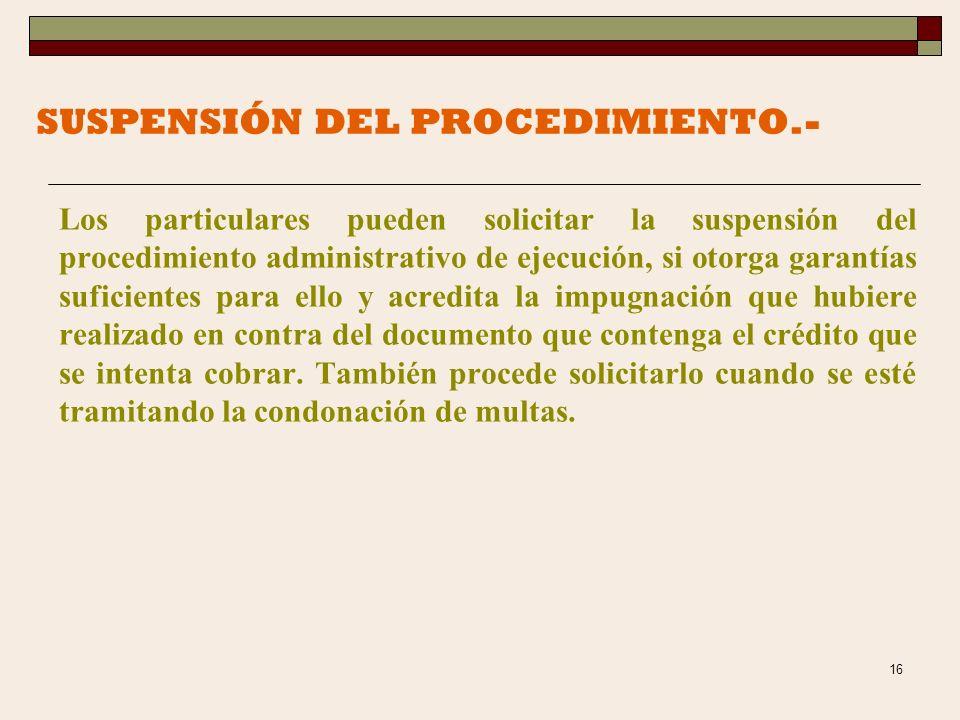 15 PROCEDIMIENTO ADMINISTRATIVO DE EJECUCION.- Es la forma legal en que el fisco federal hace efectivos los cobros de los créditos fiscales, cuando no