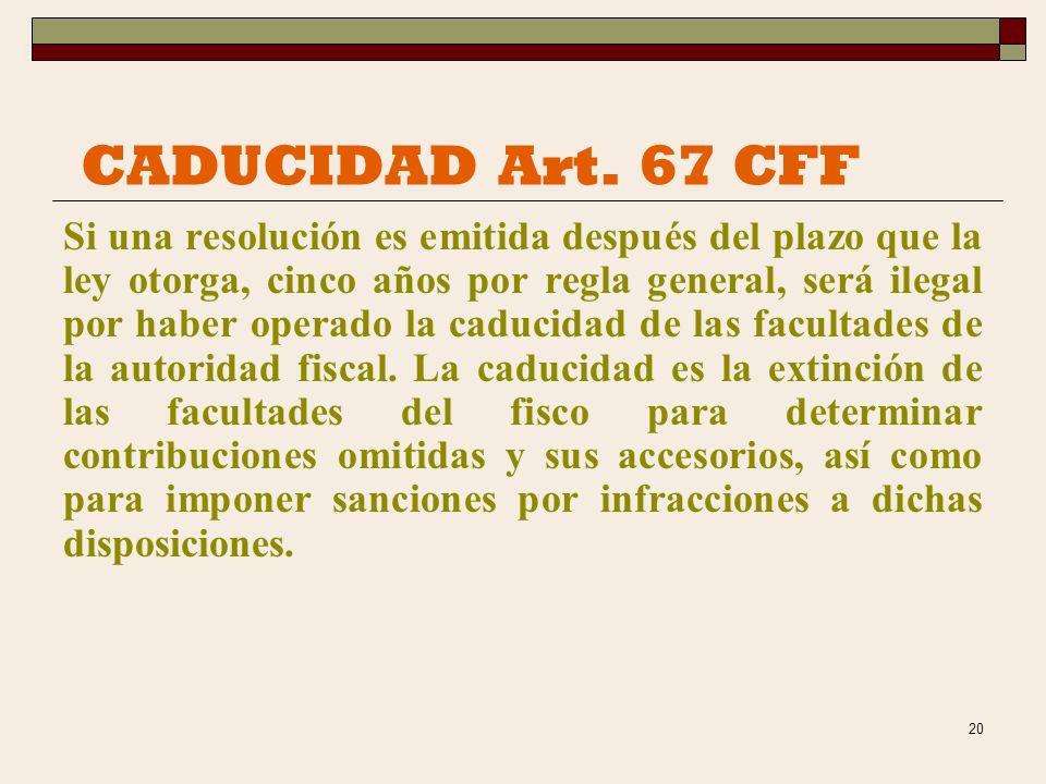19 RECURSO DE REVOCACION Art.116-128 CFF Los recursos son medios de impugnación que otorga la ley a las partes y a los terceros para que obtengan, med