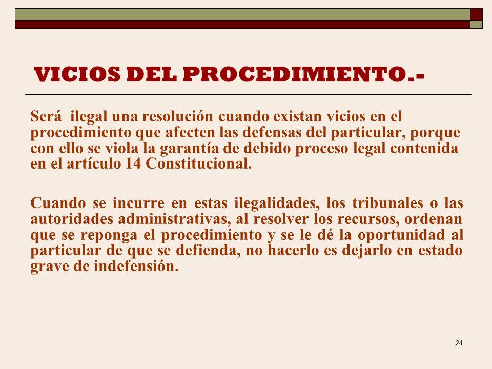 23 AUSENCIA DE FUNDAMENTO Y MOTIVO.- Será ilegal la resolución o cualquier otro acto de la autoridad fiscal que carezca de fundamentación y motivación