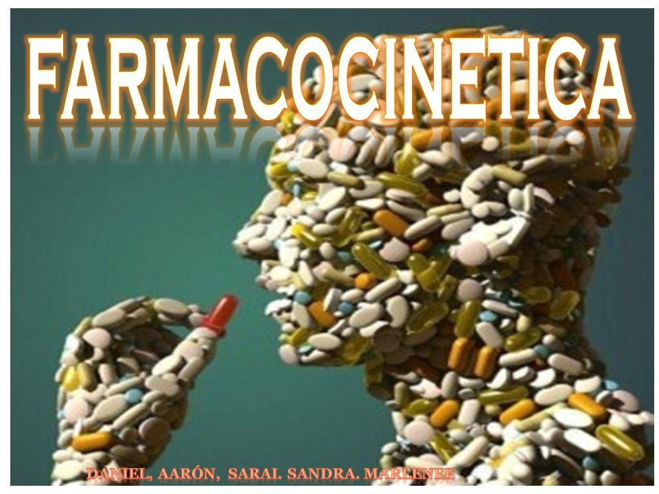 La farmacocinética estudia el paso del fármaco por el organismo; concretamente se ocupa de la relación entre el volumen de fármaco administrado y la evolución a lo largo del tiempo de su concentración en el organismo..