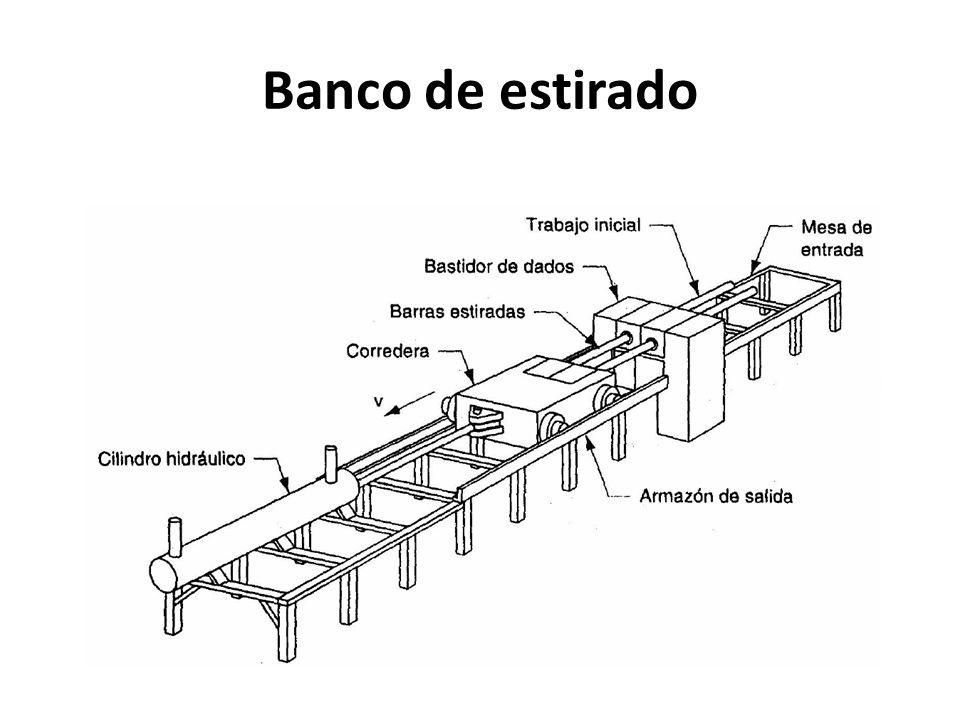 Banco de estirado