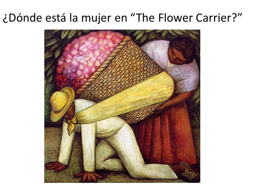¿Dónde está la mujer en The Flower Carrier?