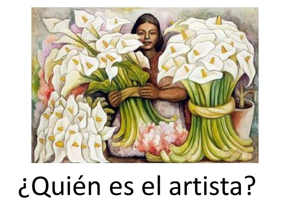 ¿Quién es el artista?