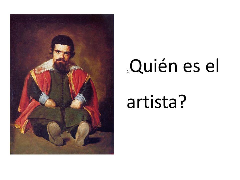 ¿ Quién es el artista?