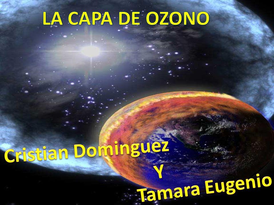 LA CAPA DE OZONO Cristian Déniz y Tamara Eugenio