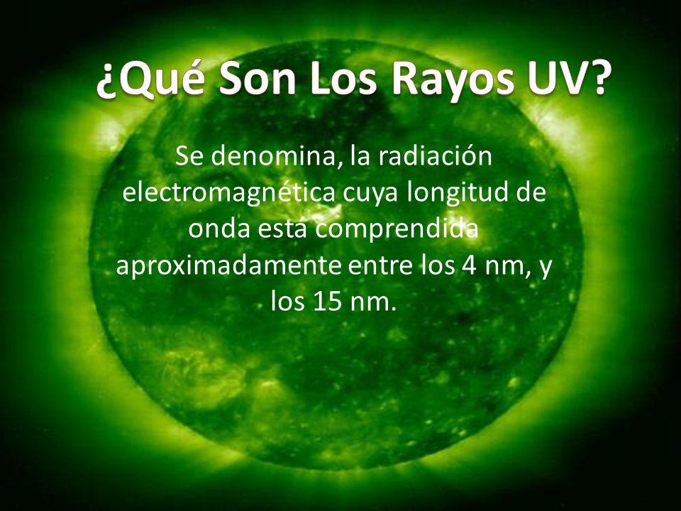 Se denomina, la radiación electromagnética cuya longitud de onda está comprendida aproximadamente entre los 4 nm, y los 15 nm.