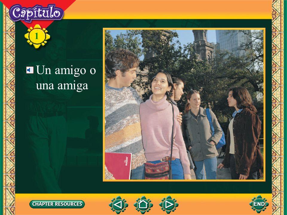 1 Artículosel, la, un, una 3.The definite articles in Spanish are el and la. El is used with a masculine noun and la is used with a feminine noun. The