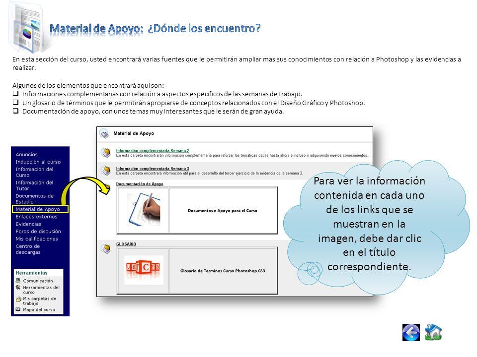 La herramienta Correo Interno funciona como un sistema de correo dentro del curso.