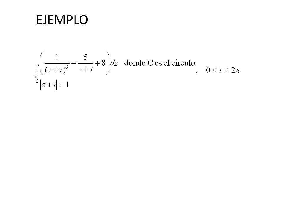 4 Sea f (z) analítica en un dominio simplemente conexo D.
