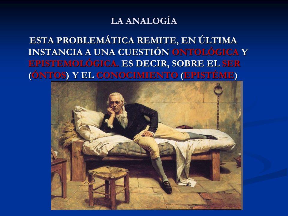 LA ANALOGÍA LA DEDUCCIÓN ES UN PROCESO DISCURSIVO Y DESCENDENTE QUE PASA DE LO UNIVERSAL (GENERAL) A LO PARTICULAR LA DEDUCCIÓN ES UN PROCESO DISCURSIVO Y DESCENDENTE QUE PASA DE LO UNIVERSAL (GENERAL) A LO PARTICULAR ES LA OPERACIÓN INTELECTUAL INVERSA A LA INDUCCIÓN