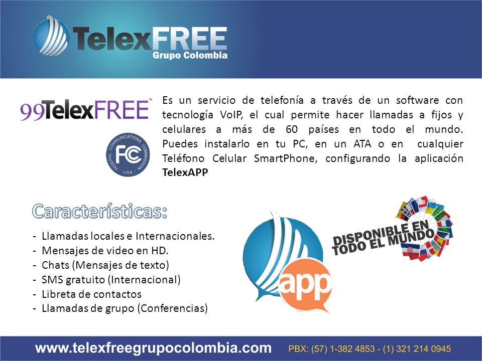 Es un servicio de telefonía a través de un software con tecnología VoIP, el cual permite hacer llamadas a fijos y celulares a más de 60 países en todo el mundo.