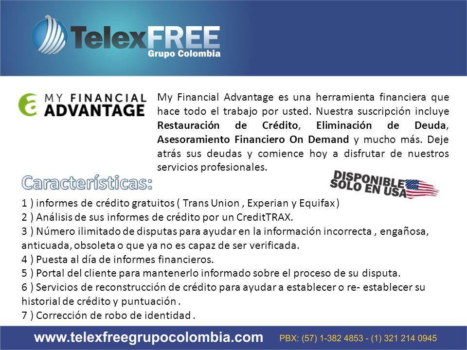 My Financial Advantage es una herramienta financiera que hace todo el trabajo por usted.