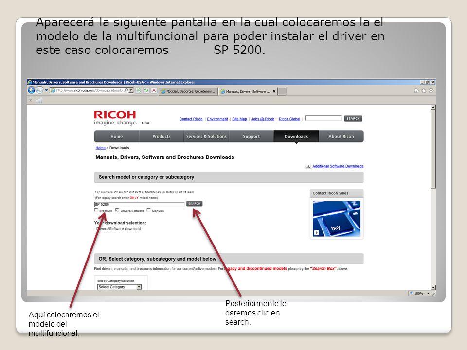 Configuración Impresora CDP Despues debemos entrar a la Web del multifuncional, deben iniciar sesión como administrador dando click en Inicio de Sesion