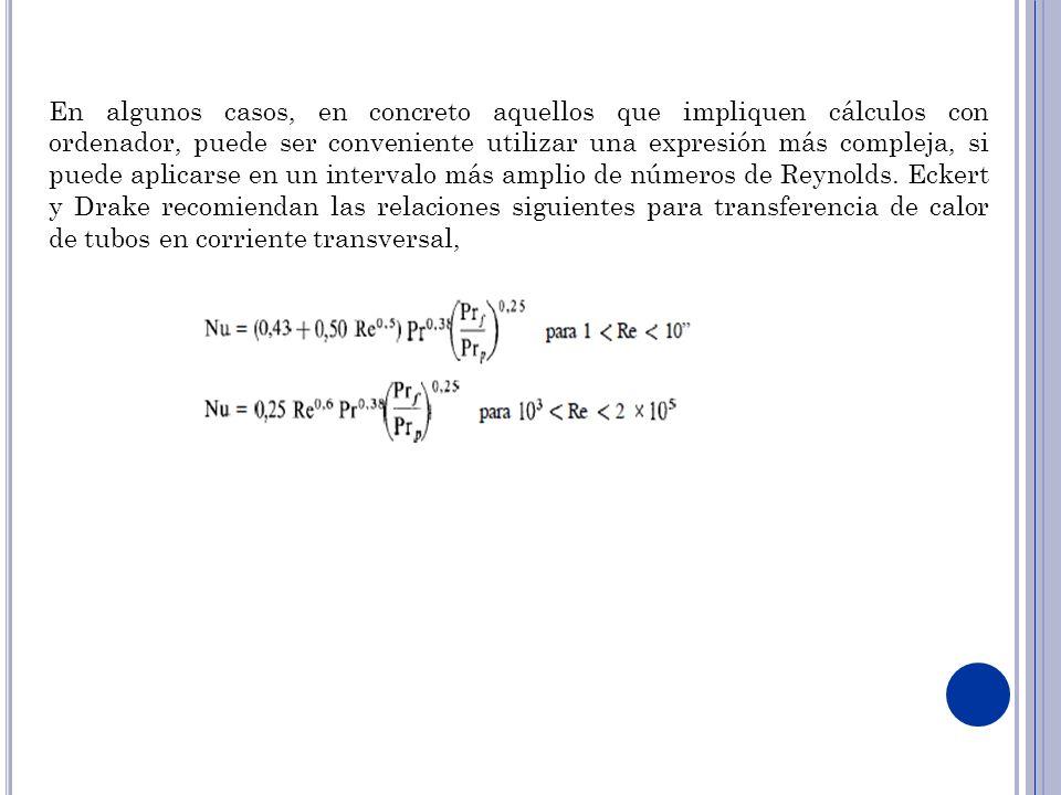 En algunos casos, en concreto aquellos que impliquen cálculos con ordenador, puede ser conveniente utilizar una expresión más compleja, si puede aplic