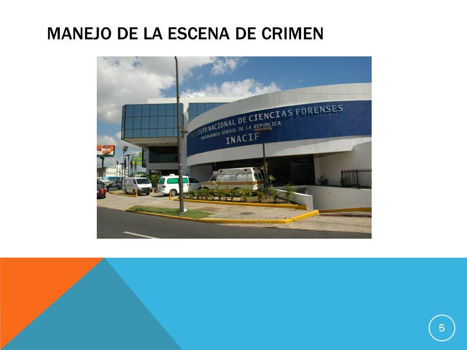 MANEJO DE LA ESCENA DE CRIMEN 5