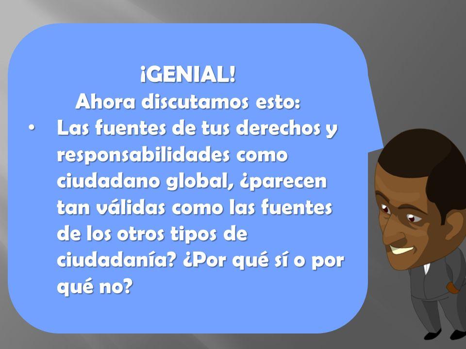 ¡GENIAL.