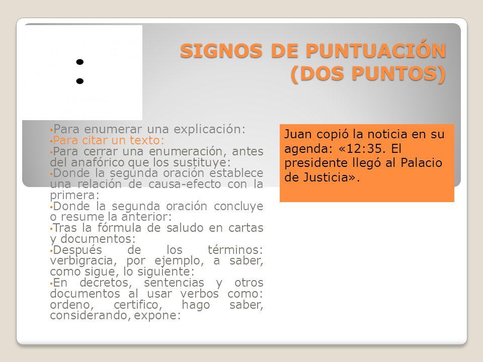 EJERCICIO ADICIONAL: Además del PDF adjunto, realiza tres oraciones semejantes a cada caso que en esta presentación se han realizado.