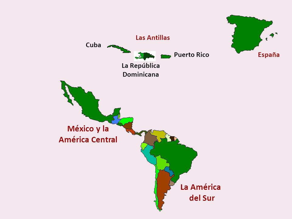 List of Spanish Speaking Countries Europa España Centro América Guatemala Honduras El Salvador Nicaragua Costa Rica Panamá Caribe Cuba República Domin