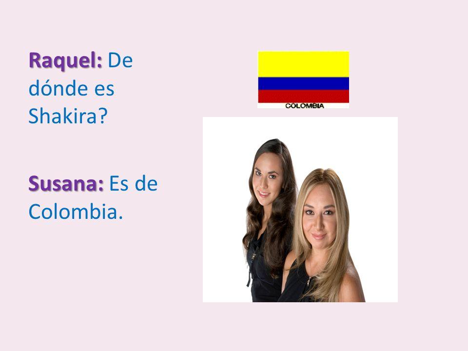Ricardo: Ricardo: De dónde eres? Martha: Martha: Soy de Guatemala.