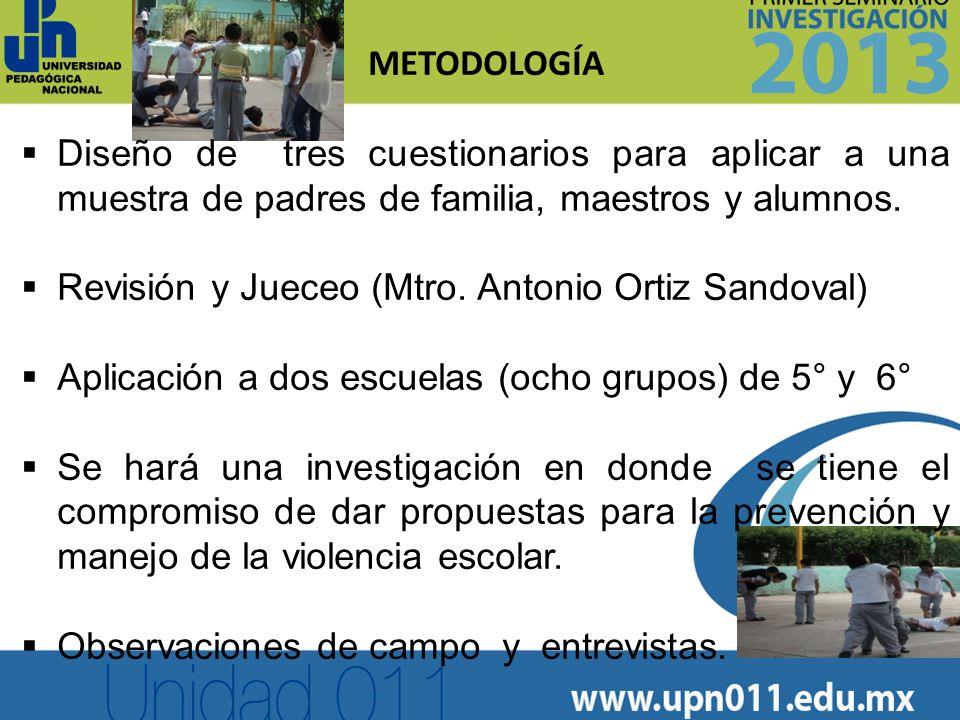 METODOLOGÍA INICIADA Pilotaje en la Escuela Enrique García Gallegos T.M.