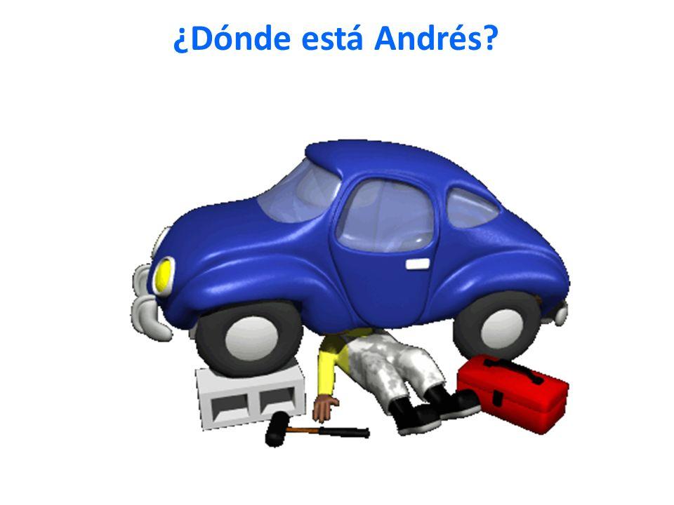 ¿Dónde está Andrés?