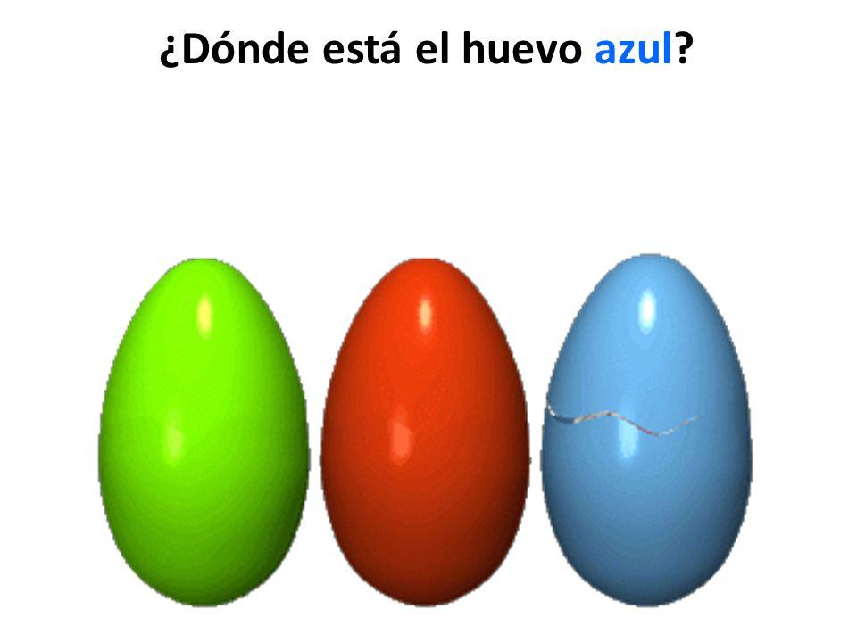 ¿Dónde está el huevo azul?