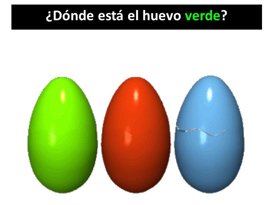 ¿Dónde está el huevo verde?