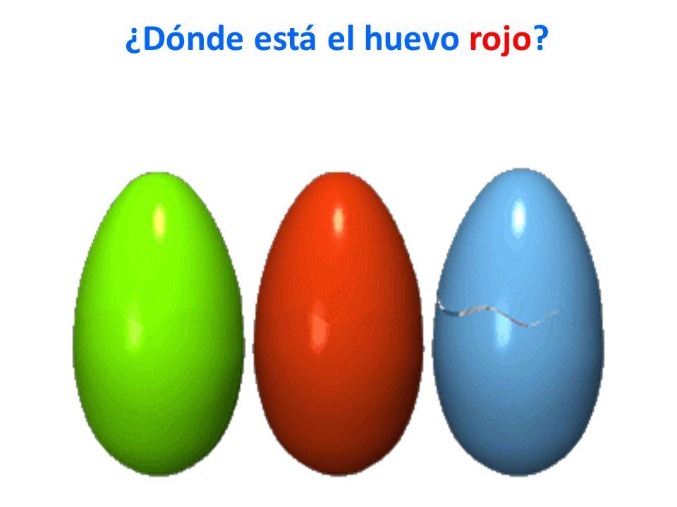 ¿Dónde está el huevo rojo?